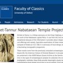 khirbet et tannur nabataean temple project