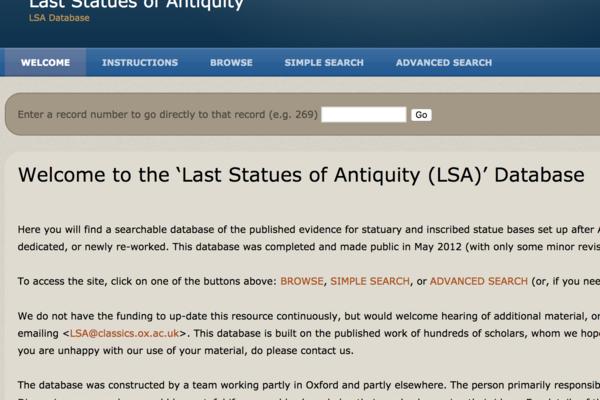 last statues of antiquity
